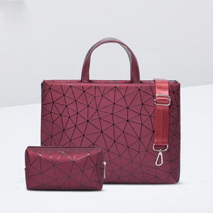 "Her Shop laptop bag Red set / 11 inch 2018 PU Leather Bag for Laptop 11""12"" 13"" 14"" 15.6"" / MacBook Air/Pro 13.3"",15.4"" Shoulder Bag"