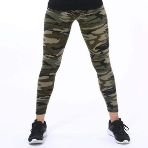 Her Shop Leggings K208 Camouflage 10 / One Size New Fashion Camouflage Printing Elasticity Leggings