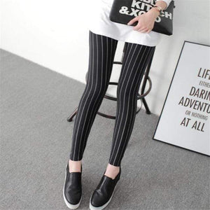 Her Shop Leggings Black vertical bars / One Size New Fashion Camouflage Printing Elasticity Leggings
