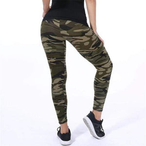 Her Shop Leggings K208 Camouflage 6 / One Size New Fashion Camouflage Printing Elasticity Leggings