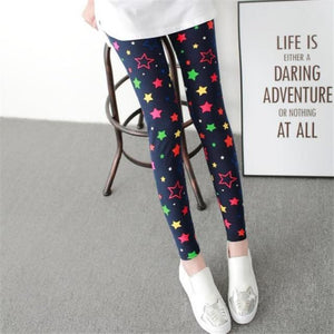 Her Shop Leggings Colored stars / One Size New Fashion Camouflage Printing Elasticity Leggings