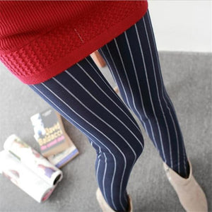 Her Shop Leggings Navy blue bars / One Size New Fashion Camouflage Printing Elasticity Leggings