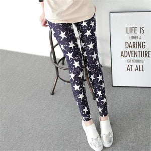 Her Shop Leggings Graffiti five stars / One Size New Fashion Camouflage Printing Elasticity Leggings
