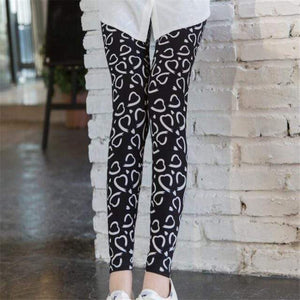 Her Shop Leggings Thousand hearts / One Size New Fashion Camouflage Printing Elasticity Leggings