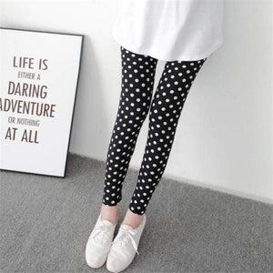 Her Shop Leggings Black White dots / One Size New Fashion Camouflage Printing Elasticity Leggings