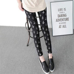 Her Shop Leggings Black low cross / One Size New Fashion Camouflage Printing Elasticity Leggings