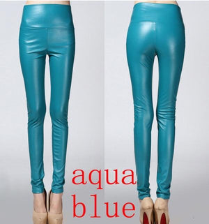 Her Shop Leggings aqua blue / S Women Autumn Winter Legging
