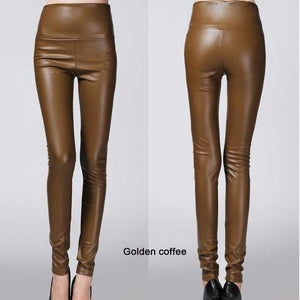 Her Shop Leggings Golden coffee / L Women Autumn Winter Legging