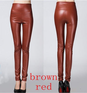 Her Shop Leggings brown red / S Women Autumn Winter Legging