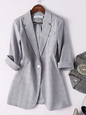 Her Shop Outfits Women's Fashionable Two-Piece Business Suit