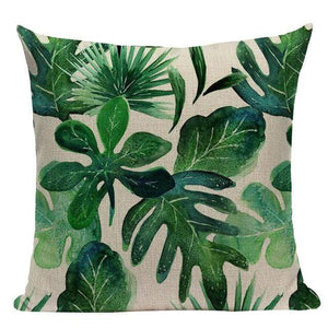 Her Shop pillow case L87 / L87-11 High Quality  Rain forest Style Cushion Covers