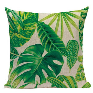 Her Shop pillow case L87 / L87-19 High Quality  Rain forest Style Cushion Covers