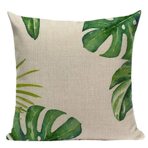 Her Shop pillow case L87 / L87-18 High Quality  Rain forest Style Cushion Covers
