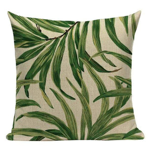 Her Shop pillow case L87 / L87-13 High Quality  Rain forest Style Cushion Covers