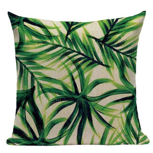 Her Shop pillow case L87 / L87-21 High Quality  Rain forest Style Cushion Covers