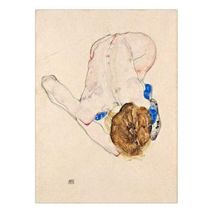 Her Shop Posters 13x18cm NO Frame / K05459 Austrian Egon Schiele Oil Paintings Posters