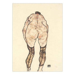 Her Shop Posters 13x18cm NO Frame / K05481 Austrian Egon Schiele Oil Paintings Posters