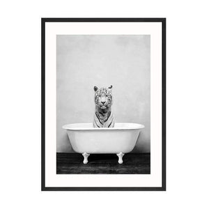 Her Shop Posters 20x30cm No Frame / Picture 13 Baby Animal in Bathtub Posters