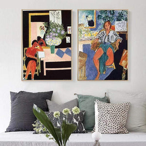 Her Shop Posters Henri Matisse Fauvism Abstract Gypsy Girl Peace Life Canvas Paintings Posters