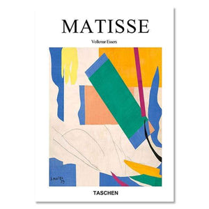 Her Shop Posters 10x15cm   No Frame / B Matisse Abstract Geometric Colorful Painting Posters