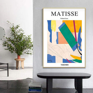 Her Shop Posters Matisse Abstract Geometric Colorful Painting Posters