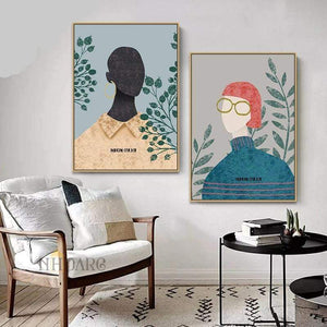 Her Shop Posters Nordic Modern Simple Vogue Posters