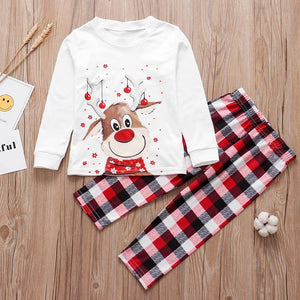 Her Shop Sleepwears Family Christmas Pajamas Set