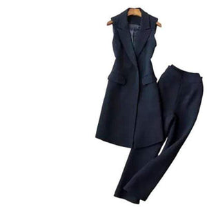 Her Shop suits 1 / S Fashion Vest Suit