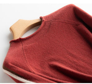 Her Shop Sweaters & Hoodies 100% pure cashmere all-match pullover