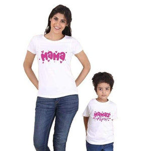 Her Shop T-shirt White / Mom L Mother Daughter Family Matching T-shirt