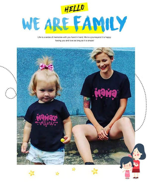Her Shop T-shirt Mother Daughter Family Matching T-shirt