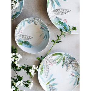 Her Shop Tableware Ceramic Dinnerware Set Creative Breakfast Bowls Plates Cups Set