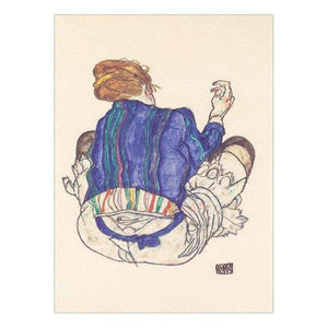 Her Shop 30x40cm NO Frame / K05480 Vinsonloud Home Decoration Print Canvas Wall Art Picture Poster Paintings Oil Unframed Drawings Austrian Egon Schiele