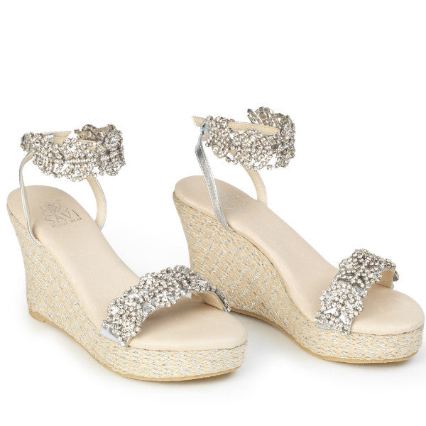 Candace Clear Wedge - Sandals  Wedges  Espadrilles