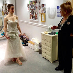 Helena designed for Kleinfeld, Say yes to Savi