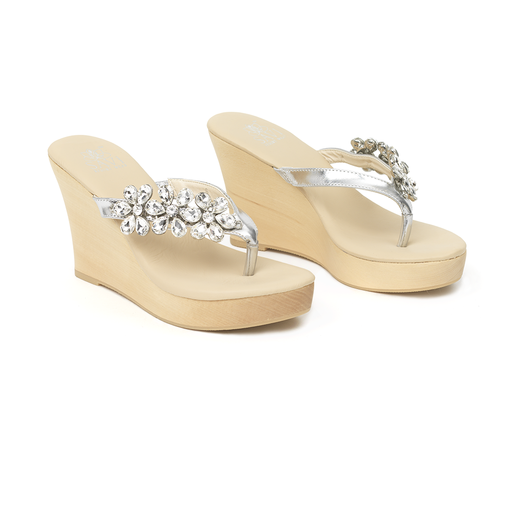 Gisselle Clear Wedge - Sandals  Wedges  Espadrilles - 1