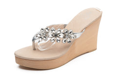 Gisselle Clear Wedge - Sandals  Wedges  Espadrilles - 2