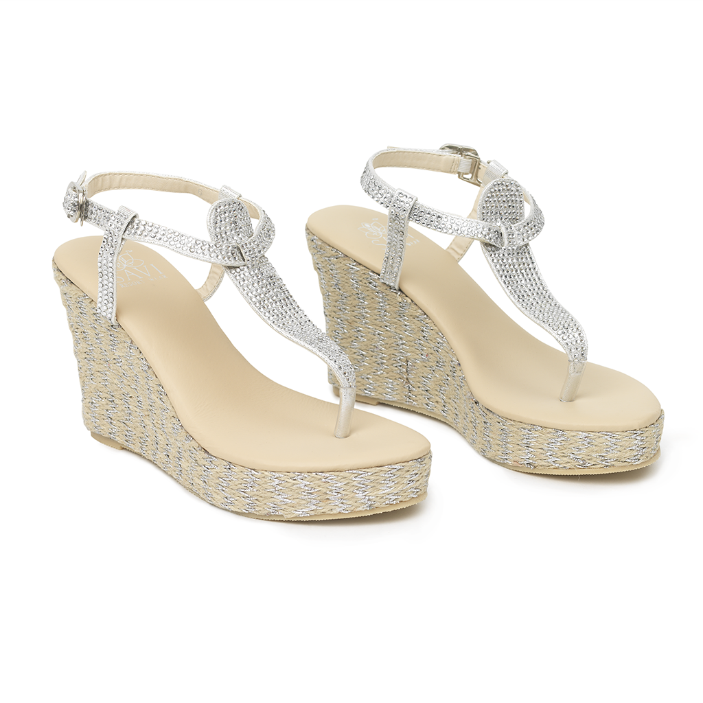 Gladiator Clear Wedge - Sandals  Wedges  Espadrilles - 1