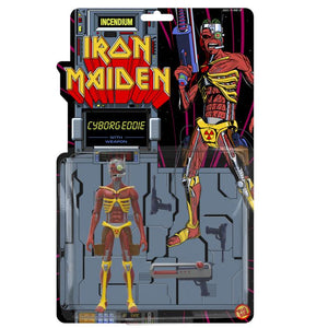 Iron Maiden Cyborg Eddie Action figure