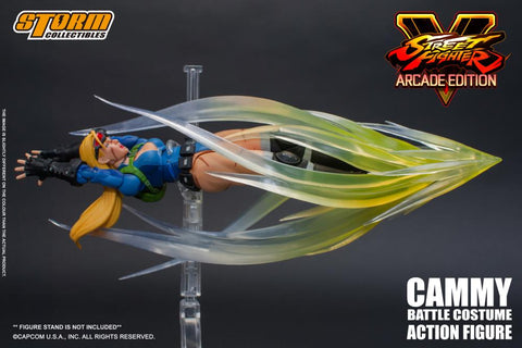 Image of Cammy Street Fighter Action Figure Storm Collectibles