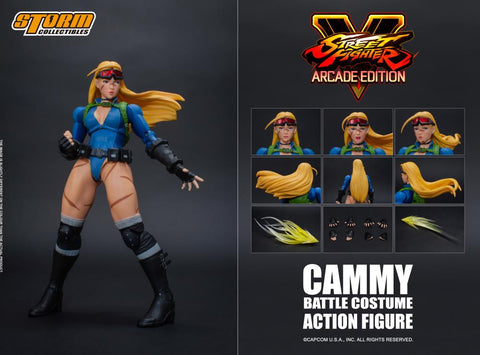 Cammy Street Fighter Action Figure Storm Collectibles