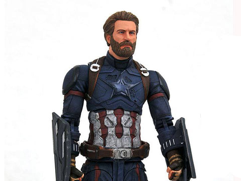 Capitan America Marvel Select Avengers Infinity War Action Figure 18 cm