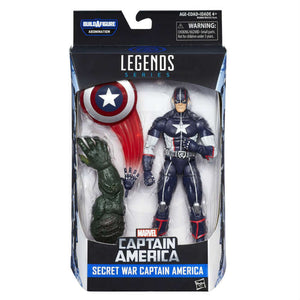 Capitan America Secret Wars Action Figure Marvel Legends 16 cm