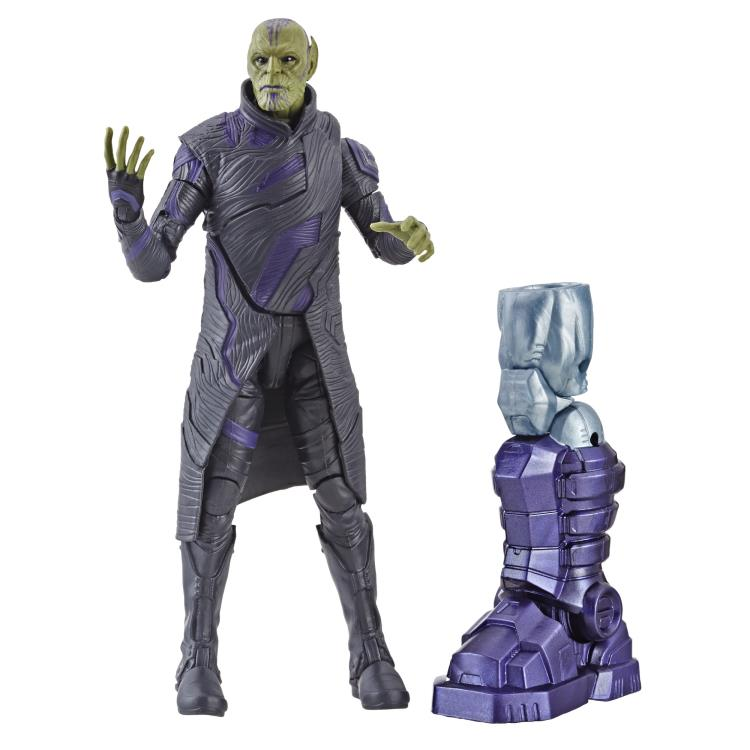 Capitan Marvel Action Figure Talos Skrull Marvel Legends