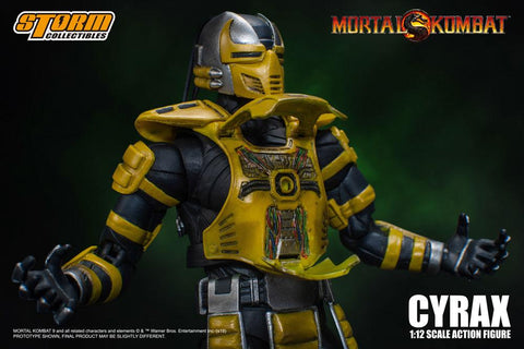 Image of cyrax mortal kombat storm collectibles