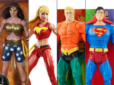 Image of Dc Comics Multiverse Mattel Action Figure Wave 7 Supereroi