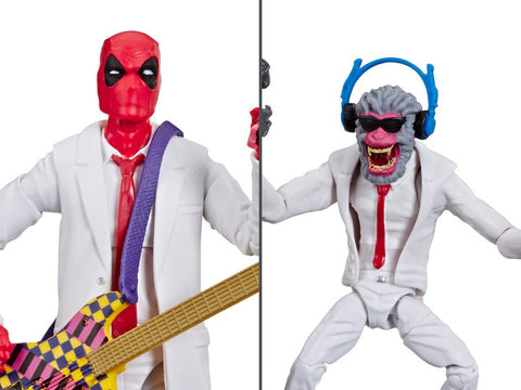 Image of deadpool & hit monkey 2 pack marvel legends