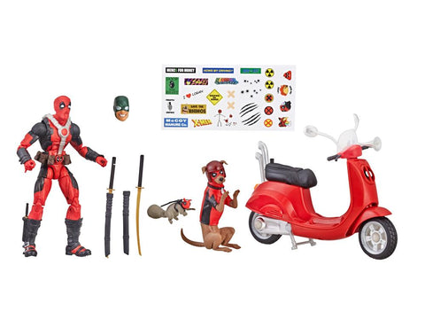 Image of Deadpool con Vespa Marvel Legends Action Figure Hasbro