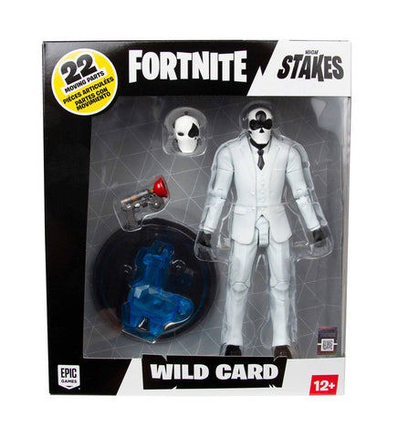 Image of Fortnite Wild Card Black Action Figure Mc Farlane 18 cm