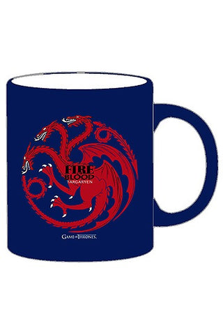 Game of Thrones Mug Tazza Targaryen Trono di Spade
